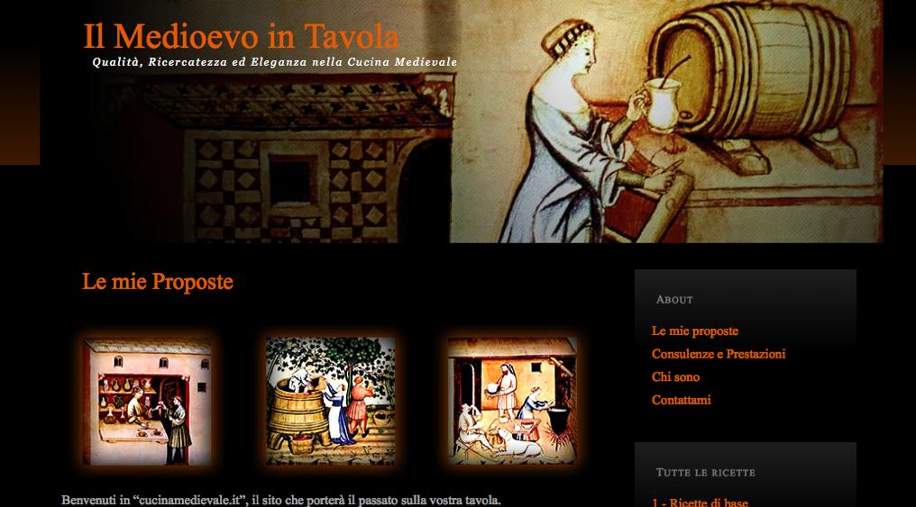 cucinamedievale.it – Il Medioevo in Tavola