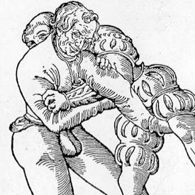 Fabian Von Auerswald, il maestro di lotta del 16mo secolo