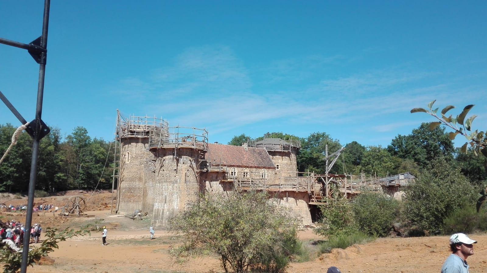 Le château-fort du Guédelon